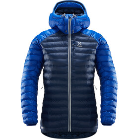 Haglöfs Essens Mimic Hood Jacket Women Tarn Blue/Cobalt Blue